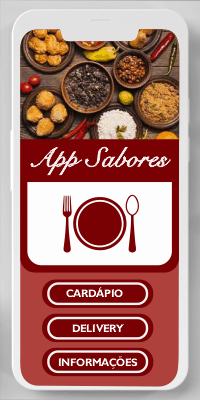 Aplicativo criado para Restaurante Sabores